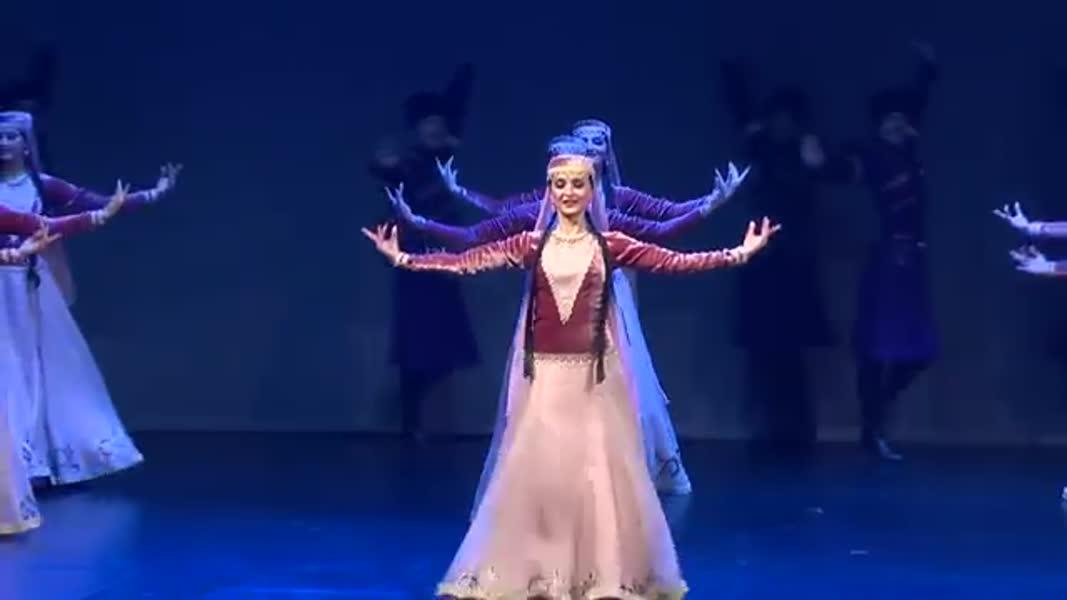 رقص  آذربایجان 2019