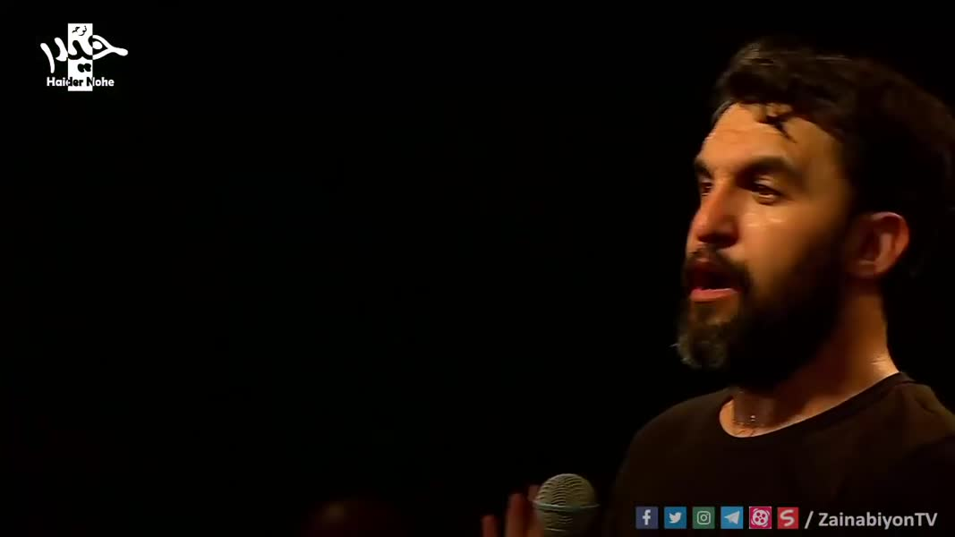 مداحی حمید علیمی در کنار محمود کریمی - جلوی آیینه خودمو میبینم
