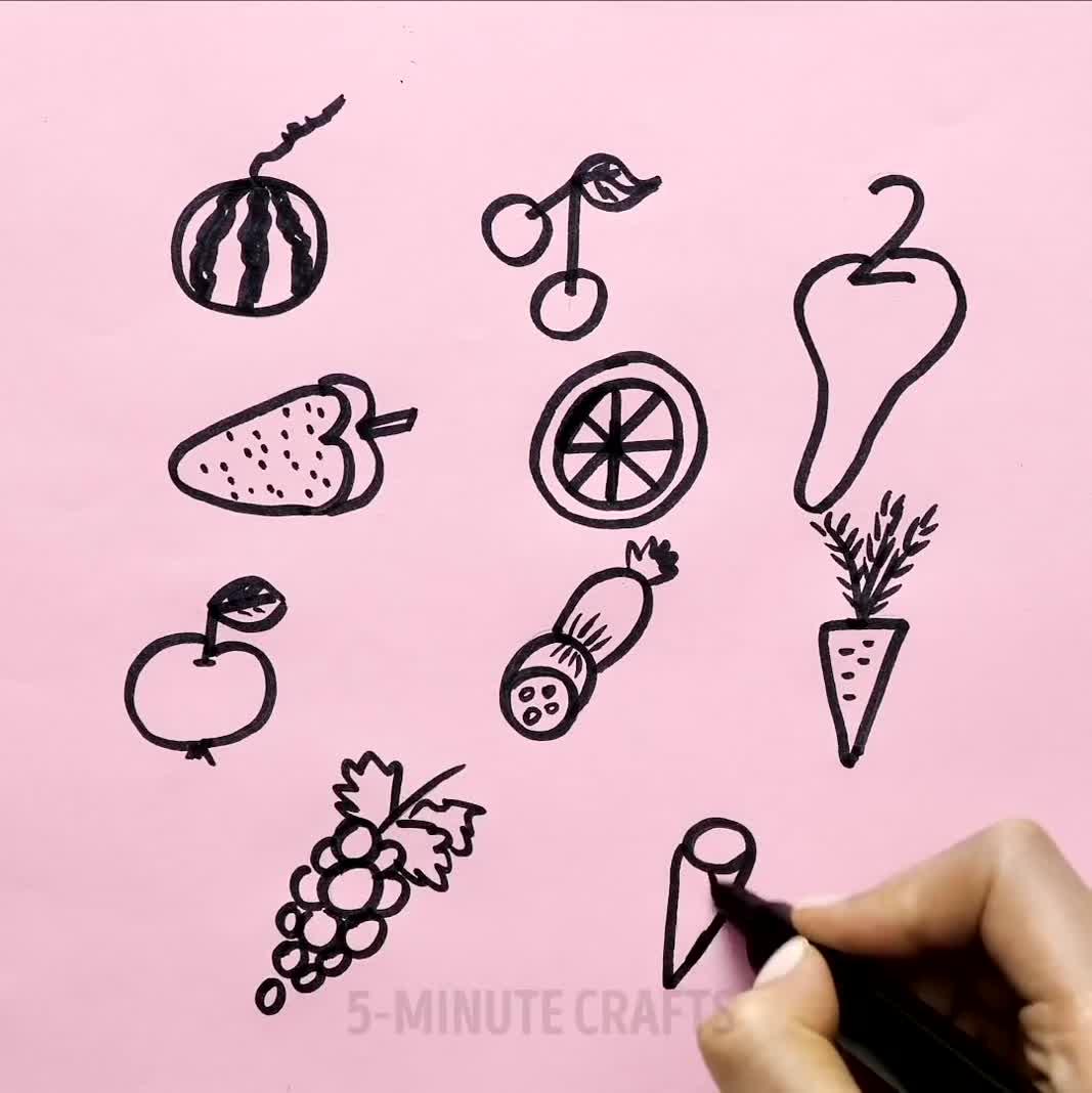 ده ایده جالب برای سرگرم کردن کودکان با نقاشی