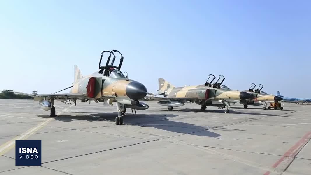 مانور هوایی مشترک ارتش و سپاه