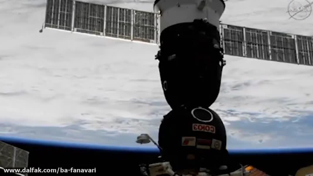 فرود فضانورد 60 ساله ایتالیایی